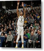 Boston Celtics V Indiana Pacers Metal Print