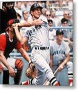 Boston Red Sox Carl Yastrzemski... Sports Illustrated Cover Metal Print
