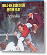 Boston Red Sox Carlton Fisk... Sports Illustrated Cover Metal Print