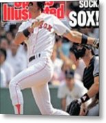 Boston Red Sox Dwight Evans... Sports Illustrated Cover Metal Print