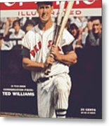 Boston Red Sox Ted Williams... Sports Illustrated Cover Metal Print