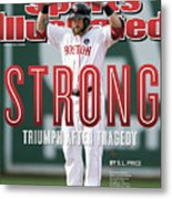 Boston Strong Triumph After Tragedy Sports Illustrated Cover Metal Print