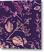 Botanical Branching Metal Print