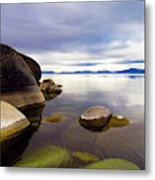 Boulders At Sand Harbor Metal Print