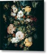 Bouquet Of Flowers  The So Called Liechtenstein Bouquet        Metal Print