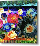 Bouquet Of Gratitude And Forgiveness Metal Print