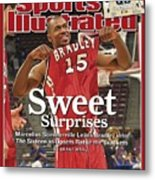 Bradley Marcellus Sommerville, 2006 Ncaa Playoffs Sports Illustrated Cover Metal Print