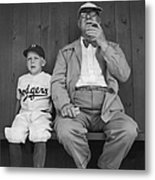 Branch Rickey & Family Metal Print