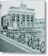 Brandenburg Gate - Berlin Metal Print