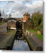 Bratch Locks Landscape Metal Print