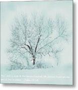 Breath Of Winter Metal Print