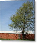Brickline Farm Metal Print