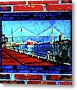 Bridges And Walls  Metal Print