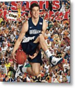 Brigham Young University Jimmer Fredette, 2011 March Sports Illustrated Cover Metal Print