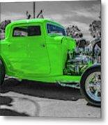 Bright Green Ford Metal Print
