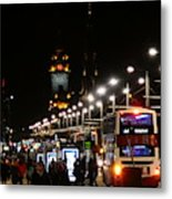 Bright Lights Nobody Wanted Metal Print