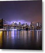 Bright Lights Of New York II Metal Print