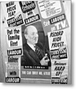 British Labour Party Election Posters Metal Print