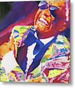 Brother Ray Charles Metal Print