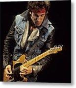Bruce Springsteen Performs Live Metal Print