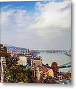 Budapest - Sweeping View Metal Print