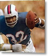 Buffalo Bills O.j. Simpson... Sports Illustrated Cover Metal Print