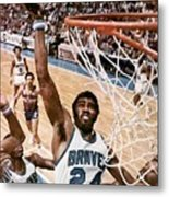 Buffalo Braves Garfield Heard, 1975 Nba Eastern Conference Sports Illustrated Cover Metal Print