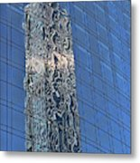 Building Reflections # 3 Metal Print