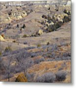 Burning Coal Vein April Reverie Metal Print