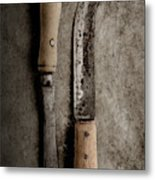 Butcher Knives Metal Print