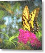 Butterfly Likeness  Metal Print