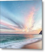Cabo San Lucas Beach Sunset Mexico Metal Print
