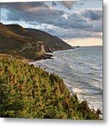Cabot Trail Scenic Metal Print