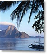Cadlao Island From El Nido, Sunrise Metal Print