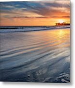 California Sunset V Metal Print