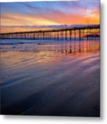California Sunset Vii Metal Print