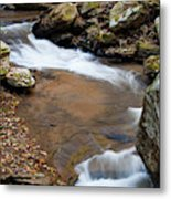 Calming Water Sounds - North Carolina Metal Print
