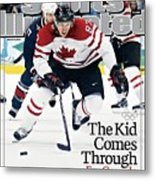 Canada Sidney Crosby, 2010 Winter Olympics Sports Illustrated Cover Metal Print