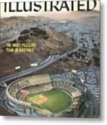 Candlestick Park Sports Illustrated Cover Metal Print
