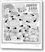 Candy Land For Adults Metal Print