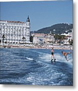 Cannes Watersports Metal Print