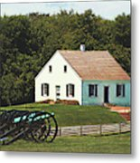 Cannons At Dunker Church Metal Print