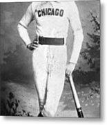 Cap Anson, Famed Baseball Player Metal Print
