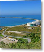 Cap Antifer Oil Terminal  Metal Print