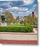 Capitol - Madison - Wisconsin From Bascom Hall Metal Print