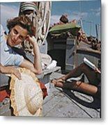Capri Cruise Metal Print