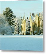 Carberry Tower In Late Afternoon Sunshine Metal Print