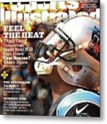 Carolina Panthers Cam Newton, 2016 Nfl Football Preview Sports Illustrated Cover Metal Print