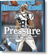 Carolina Panthers Steve Smith, 2006 Nfc Divisional Playoffs Sports Illustrated Cover Metal Print