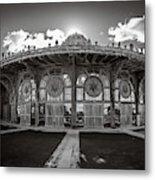Carousel House Metal Print